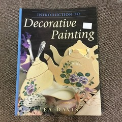 """Book """"Introduction to Decorative Painting"""" by Lea Davis."""