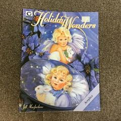 "book ""Holiday Wonders"" by Jill Macfarlane."