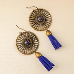 Sapphire Cleo Earrings