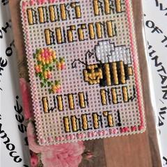 Six Large Magnet Bookmarks (Cross Stitch)