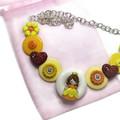 Girl's Princess necklace - Autumn Princess