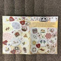 "DMC mini booklets ""Ideas for Embroidery""."
