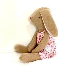 bunny softie, READY TO POST, baby girl toy, stuffed animal
