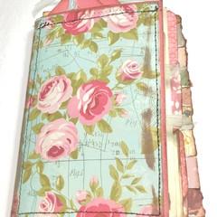 Spring Themed Vintage Journal 6