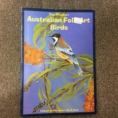 Australian Folk Art Birds by Kate Broadfoot.