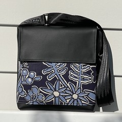 Satchel - Abundance in Blue and Navy - Free Shipping