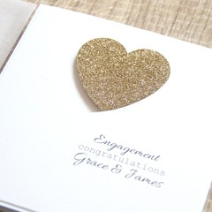 Personalised Engagement Card,  Also Available As A Wedding or Anniversary Card