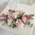 Cake Topper Silk Flower Baby Celebration