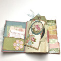 Spring Themed Vintage Journal 1
