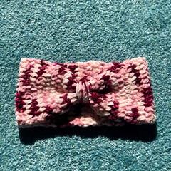 Handmade Crochet | Soft Chenille Headband | Various Colours | POSTAGE INCLUDED
