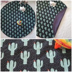 Cactus baby playmat