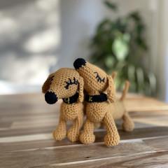 """Matching dachshund pair """"K9"""""""