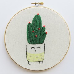 DIY Kit Happy Cacti Yellow