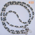 Fashion Eyeglasses/Sunglasses Holder Cord Chain Strap with Rubber Loop Ends #030