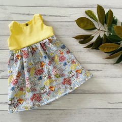 Floral Tea Party Dress, Size 0 0r 1 Girls Dresses