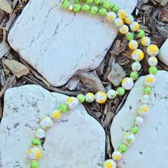Porcelain Flower Necklace