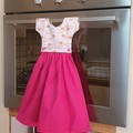 Handmade Gift for Mum - Oven Hanging Kitchen Towel Dress. Gift idea for Mom