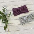 Ladies or Girls crochet headband, crochet ear warmer