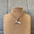 Whale Tail Charm Necklace