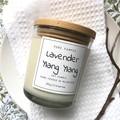 Soy Candle - Lavender & Ylang Ylang + Organic Calendula & Lavender Petals