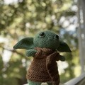 The Child baby Yoda - recycled cotton