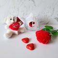 Valentines hamper personalised stemless glass gift set for boyfriend, girlfriend
