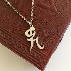 Shadowhunters Healing Rune Charm Necklace