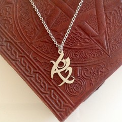 Shadowhunters Fearless Rune Charm Necklace