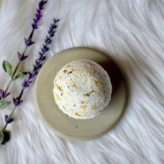 Lavender & Marigold Bath Bomb
