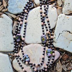Black & Pink Necklace