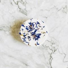 Cornflower Petal Bath Bombs