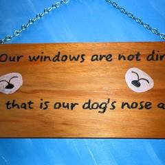 Dog art sign Dog wall decor, Dog lover gift sign, Dog wall decor. Dog plaque Pet