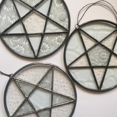 Stained Glass Pentacles