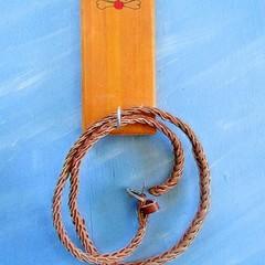 Custom Pet Leash Hanger,  Dog Leash Holder, Dog Lead. Dog Lover Gift