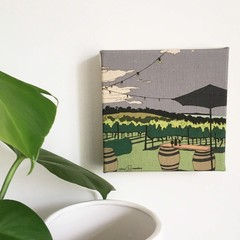 Red Hill Vineyard Mini Canvas