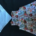 AUSTRALIAN KOALA AND BABY COTTON PRINT DRESS AND MATCHING BIB SIZE NEW BORN