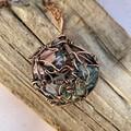 Hearts Garden 5 Stone Pendant