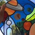 Stained Glass Space scene