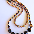 Caramel, Brown & Copper Necklace