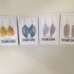 Acrylic Earrings   dangling earring   multi colours