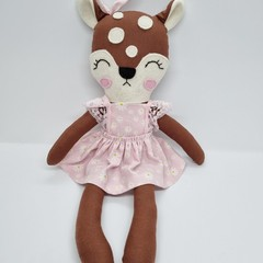 Daisey - handmade deer doll