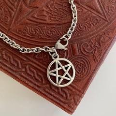 Pentagram Charm Bracelet