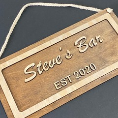 Personalised Home Signs for All Rooms - Kalghi Crafts Co