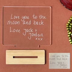 Personalised Message Engraved Plaque - Kalghi Crafts CO