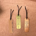 Personalised Bookmarks, Set of Bookmarks - Kalghi Crafts CO