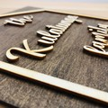 Personalised Family Name Sign - Kalghi Crafts Co