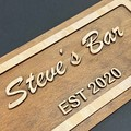 Personalised Bar Sign , Fathers Day Gifts From Kids - Kalghi Crafts Co