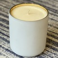 Large White Vogue Candle Fresh Coffee
