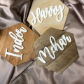 Personalised Family Names Wall Decor - Kalghi Crafts Co