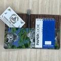 Koala Small  Fabric Pocket Notepad Cover